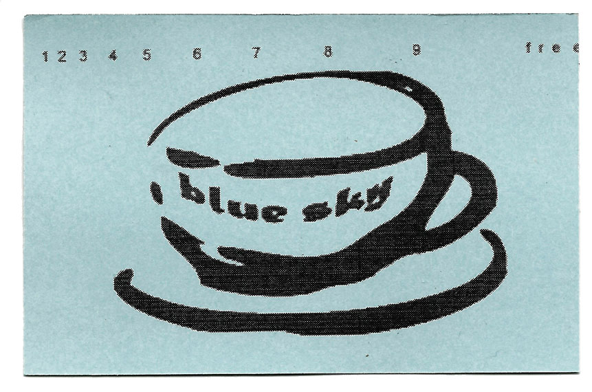 bluesky punchcard