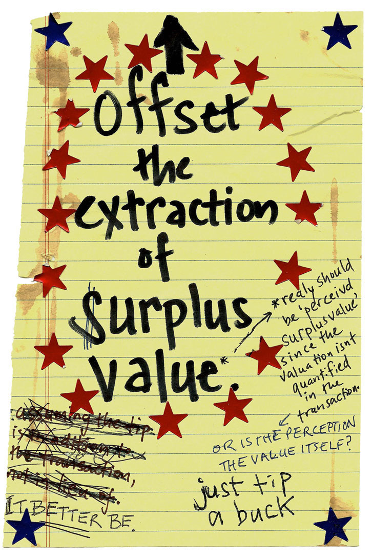 offset the extraction of surplus value